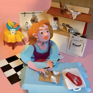 Кухнята на госпожа Черешова от Силвия Плат