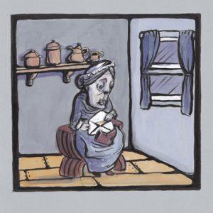 Вдовицата и папагалът от Вирджиния Улф