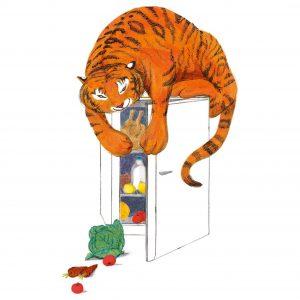 Тигърът, който дойде на чай от Джудит Кер