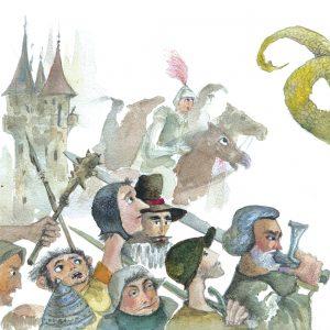 Юнакът и драконът от Райнер Мария Рилке